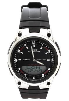 Ana-Digital Watch AW-80-1A