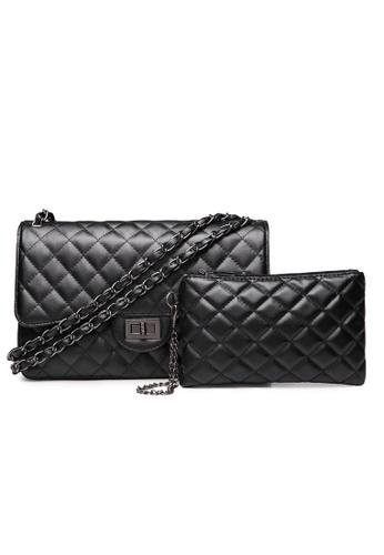 Trendyshop black Elegant Shoulder Bag Set 111DAAC04A27D1GS_1