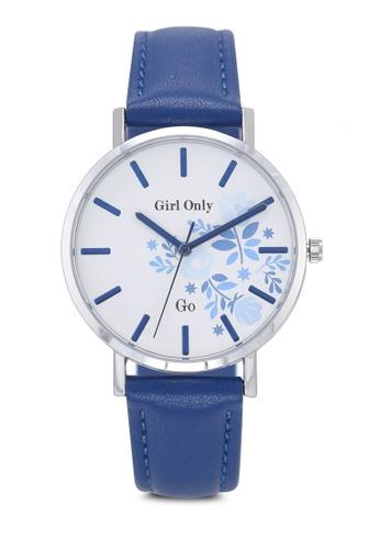 GO blue Florale Watch 0FBE6AC6FF4F0FGS_1