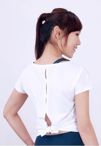 MARSHMARO white MARSHMARO LOLLIPOP Short Sleeve Active Tee - Lily White DE3A2AA0AAFDB0GS_1