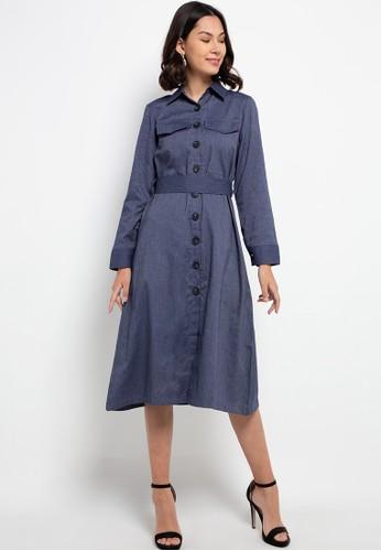 Seven Level blue Zelda Dress E2F41AABB07D6BGS_1