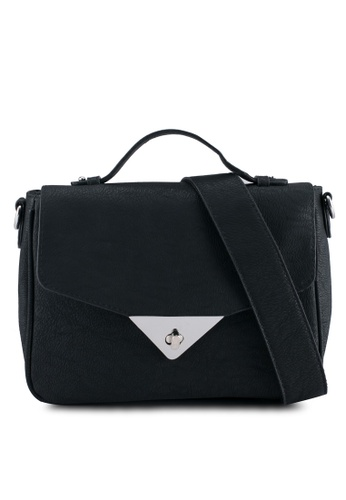 Vero Moda black Zazza Crossbody Bag VE975AC0ST3YMY_1