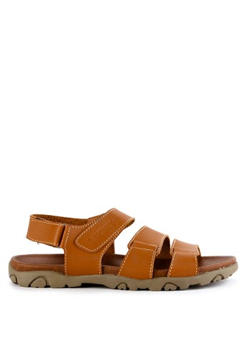Watchout! Shoes brown Sandals Strap CADF1SHABF6AACGS_1