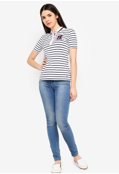 2d6b32c7 30% OFF Tommy Hilfiger IM JESSICA H PQ POLO SS RM 499.00 NOW RM 349.30  Sizes S M
