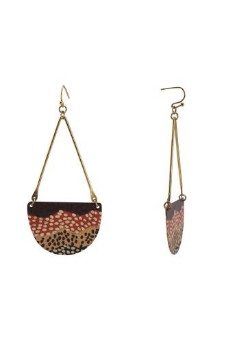 Desigual red Garden Japanese Earrings AAD1FAC542F43EGS_1