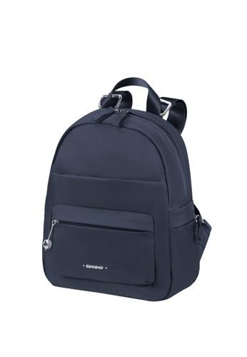 Samsonite blue and navy Samsonite Move 3.0 Backpack S 5E52BACAE8FEBDGS_1