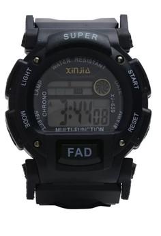Digital Waterproof Watch XJ-659BK