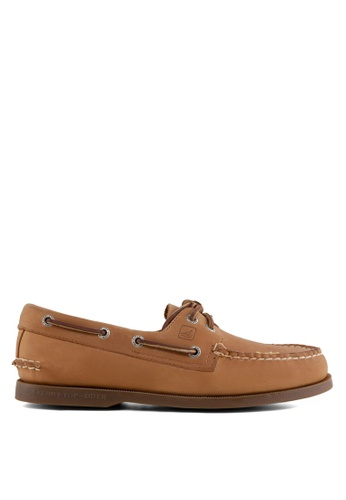 Sperry brown Authentic Original 2-Eye Classic Boat Shoes SP921SH91ADWSG_1