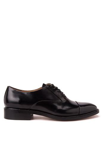Bristol Shoes black Bryce Black Oxford Cap-toe BR842SH21OZYPH_1