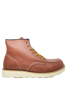 d7305076026 Twenty Eight Shoes brown Men s Leather Boots MC1507038 7B75FSHDBA91F6GS 1