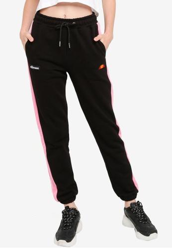 ellesse black Brillate Jog Pants 163CAAAB6DB126GS_1