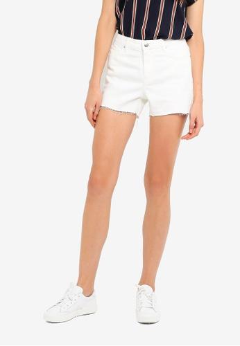 Vero Moda 白色 Anna 短褲 E8DA5AAA4465EAGS_1