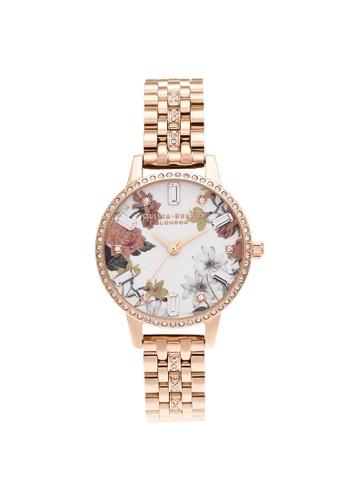 Olivia Burton silver Olivia Burton Sparkle Florals Rose Gold Women's Watch (OB16BF34) 40E1EACB7861DDGS_1