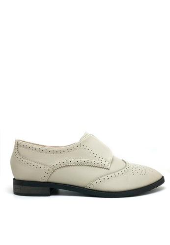 Twenty Eight Shoes Elastic Oxford Shoes 923-24 EFA16SH5B5F130GS_1