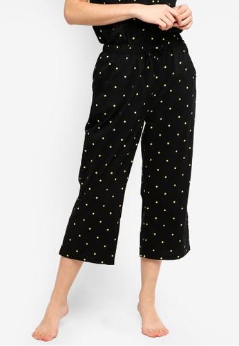 Supre black Cotton 3/4 Sleep Pants F75B8AA728410CGS_1