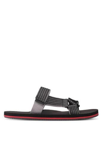 ALDO black Aawiel Sandals ECC04SH208325FGS_1