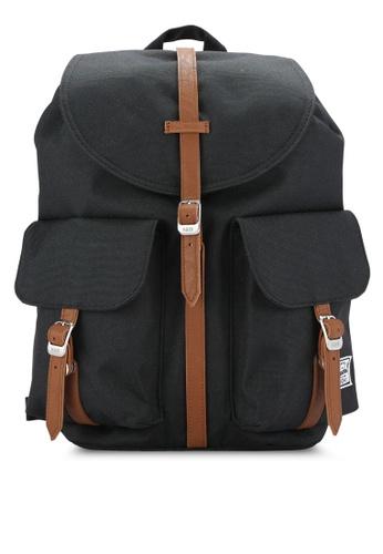 Herschel black Dawson XS Backpack HE114AC0REFEMY_1