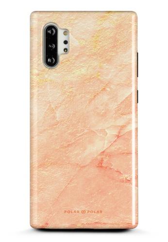 Polar Polar pink Sunset Samsung Galaxy Note10 Plus Dual-Layer Protective Phone Case (Glossy) 871DFAC3C80875GS_1