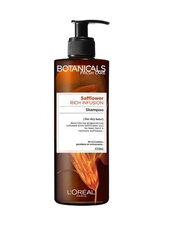 L'Oréal Paris Botanicals Safflower Rich Infusion Shampoo 400ml 5FB9FBEB48E7FEGS_1