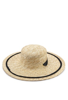 0ce512c347b84b 40% OFF Mango Contrast Ribbon Hat RM 99.90 NOW RM 59.90 Sizes One Size
