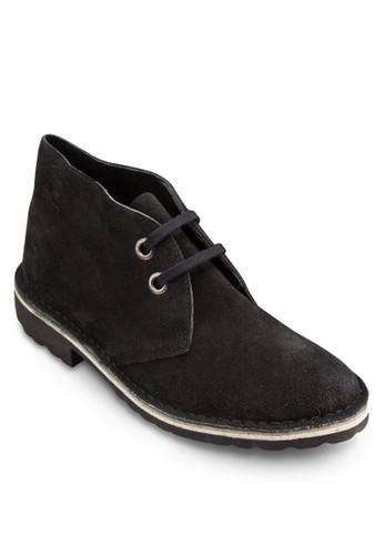 Safari 麂皮雙眼esprit hk短筒踝靴, 鞋, 鞋