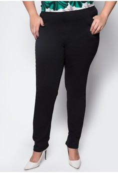 Plus Size Regular Trousers 3023