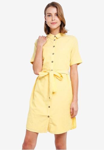 50ede19e Buy Vero Moda Abena 2/4 Shirt Dress Online on ZALORA Singapore