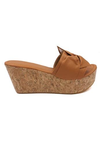 midzone brown MIDZONE Lady Fashion Wedges 3F8CASHA6E5947GS_1