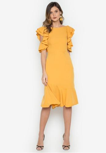 Madelaine Ongpauco Barlao yellow Terri Dress MA508AA0JNPMPH_1