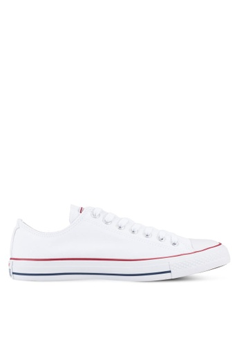 c8576ea5c953c3 Converse white Chuck Taylor All Star Ox Unisex Sneakers CO302SH03YZGMY 1