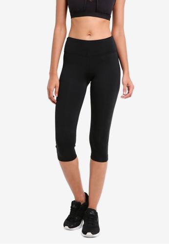 Reebok black Workout Ready Pants Capri RE691AA0SVYYMY_1