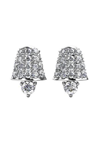 Her Jewellery silver Jingle Bell Earring WG - Anting Crystal Swarovski by Her Jewellery B3E24AC4B15151GS_1