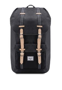 3a64daa1dd Herschel black Little America Backpack 10DDCAC99CD09FGS_1