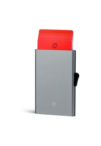C-Secure grey C-Secure Aluminium Cardholder (Grey) 64F14ACDCEBB43GS_1