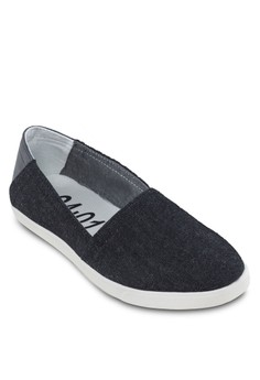 Contrast Tone Slip Ons