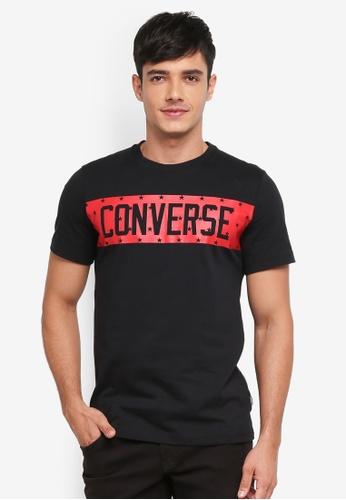 Converse black Converse All Star Block Tee B2EA1AA43375D8GS_1