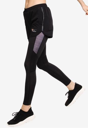 361° black Running Series 2-in-1 Pants B423CAA4789367GS_1