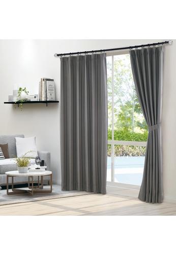 Epitex grey Epitex Luxury GRA200-1 Ready Made Curtain (Soft Grey) 68A56HL2016D6DGS_1