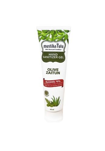 Mustika Ratu n/a [Mustika Ratu] Hand Sanitizer Gel Olive Tube 60ml 41B4BESB7711D8GS_1