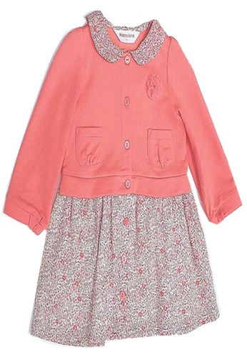 Organic mom orange Organic Cotton Tracy Floral shopping Outfit AB2FCKAD415716GS_1