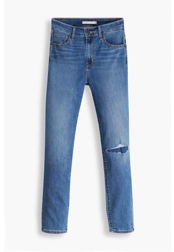 Levi's blue Levi's® Women's 721 High-Rise Skinny Ankle Jeans 22850-0124 AAAB6AAC1BEDFDGS_1