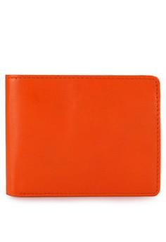 Preghiero Classic 2 Slim Wallet Signature Orange