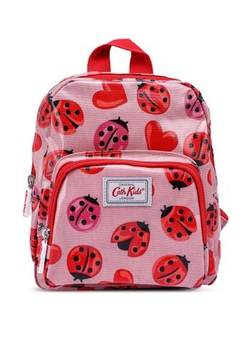 Cath Kidston pink Lovebugs Kids Mini Backpack 77E9DKC4B0ADA0GS_1