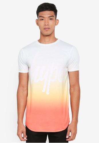 Just Hype multi Sunset Fade T-Shirt E2E93AA32040F2GS_1