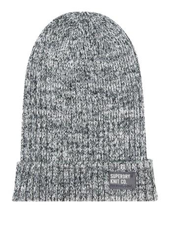 Wiseman 拼貼針織毛帽、 飾品配件、 飾品配件SuperdryWiseman拼貼針織毛帽最新折價