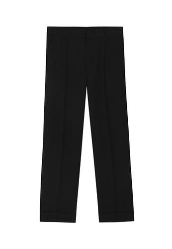 HAPPY FRIDAYS Comfortable Texture Pants M8-A-2365 FDD85AA0CB3DC6GS_1