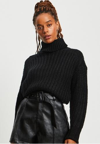 BWLDR black Arizona Knit Pullover 738A5AA776CE7DGS_1