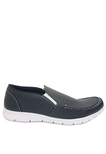 Dr. Kevin navy Dr. Kevin Men Casual Shoes 13385 - Navy 1287CSH088AE1FGS_1