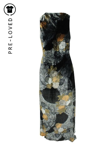 Reformation multi Pre-Loved reformation Velvet Printed Maxi Dress ED018AA1796E87GS_1