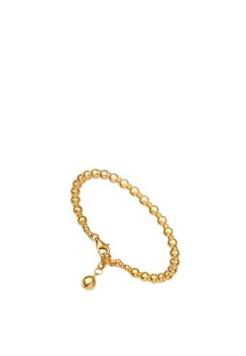Buy Tomei Drop Of Love Baby Bracelet Tomei Yellow Gold 916 22k Tz Lb2910 A 1c 120 Online Zalora Malaysia
